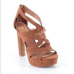 Brand New Faux Suede Heels